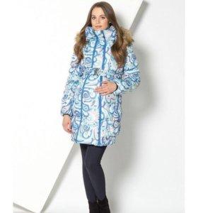 Куртка для беременных зимняя 2 в 1