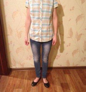 Рубашка Columbia с Коротким рукавом новая