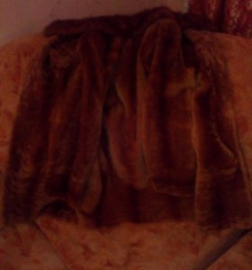 Шуба зимняя 55-57 размер