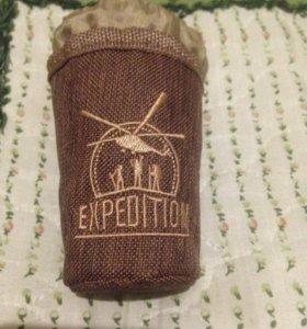 Новый набор 6 шт стопок Экспедиция из нержавейки