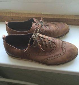 Ботинки кожа весна