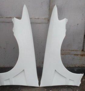 Передние крылья Vertex для Toyota Cresta/Chaser 90