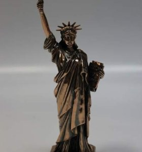 """Статуэтка бронза """"Статуя Свободы"""" 32х11см"""