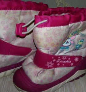 Обувь для девочки на зиму
