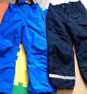 Брюки осень новые р122 м брюки зима р222-128