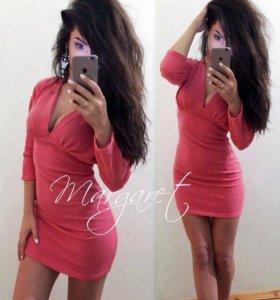 💜Новое теплое платье, 44 размер
