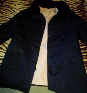Пальто-куртка натуральный мех