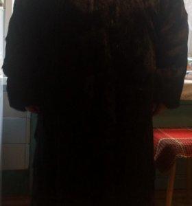 Шуба из натурального меха(козлик)