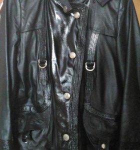 Куртка из натуральной кожи.