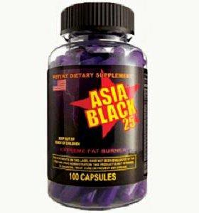 Asia black 25eph.
