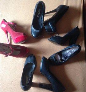Новые туфли размеры 35-38