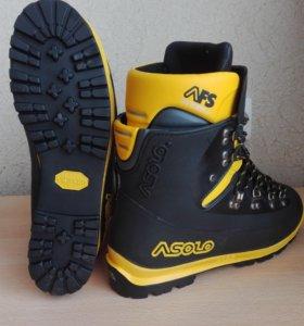 Ботинки для альпинизма asolo alpine AFS 8000 black
