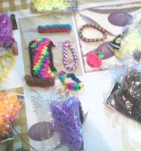 Резинки, браслеты и станок