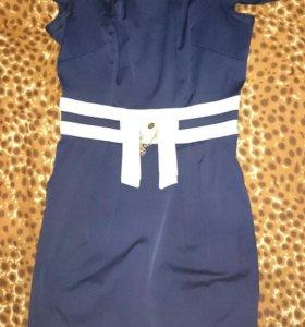 Платье. Размер 44. Цвет синий.