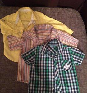 Рубашки для мальчика,  3 шт.