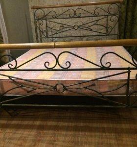 Кованная кровать!