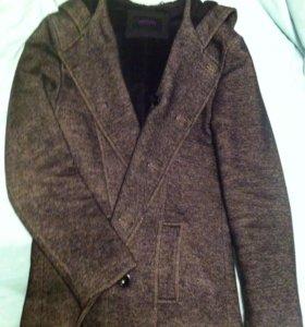 Пальто мужское теплое