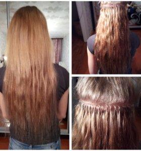 Итальянское - Кератиновое наращивание волос!!!