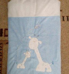 Одеяло-конвертик для малыша