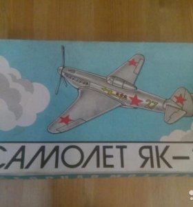 Стендовая модель самолёта Як-3 из СССР