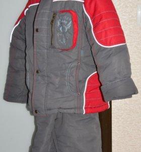 Зимняя куртка и полукомбез