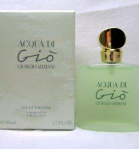 Giorgio Armani Acqua Di Gio (50) edt woman.Раритет