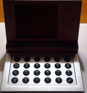 Калькулятор в виде ноутбука☺️