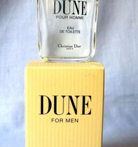 Christian Dior Dune (10) edt men. Раритет