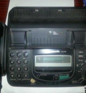Факс panasonik KX-FT64RU