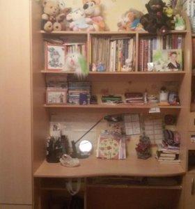 Мебельная стенка для школьника