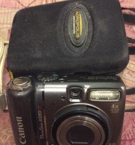 фотоапопат canon