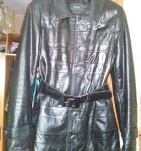 Куртка кожаная демисезонняя