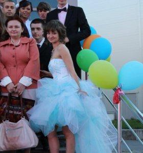 Свадебное-выпускное платье.