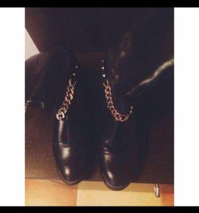 Ботинки, натуральная кожа