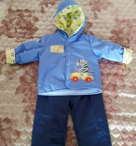 Весеннее - осенний костюм (куртка, штаны)