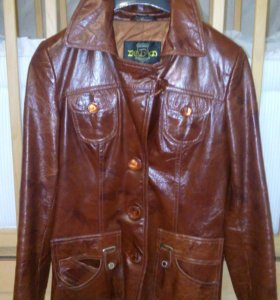 Кожаная куртка 42р-р