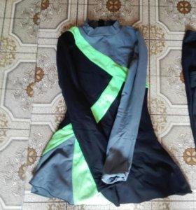 Термо_Платье для тренировок фигурного катания