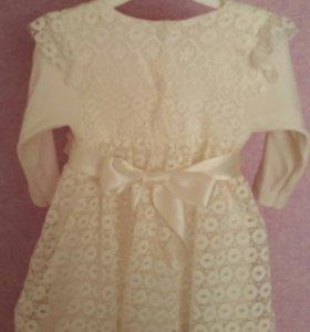 Очень милое платье на маленькую принцессу