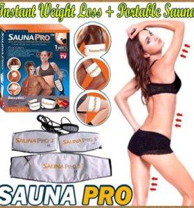 Пояс для похудения с термо-эффектом Sauna Pro 3