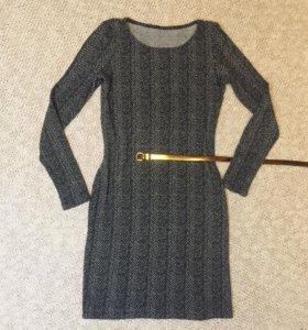 Красивое платье в ёлочку