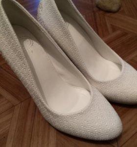 Свадебные туфельки.балетки в подарок