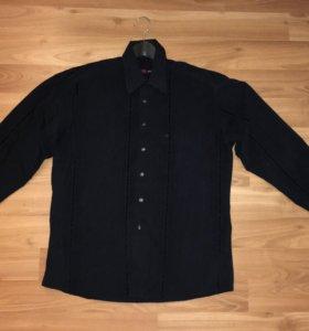 Рубашка мужская чёрная 50 р-р