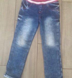 Теплые джинсы на девочку GJ