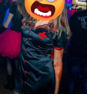 Халат медсестры на Хеллоуин