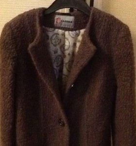 """Пальто осень-весна в стиле """"шанель"""", 46 размер."""