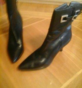 Ботинки осенние, р-р 39-40