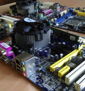 Xeon 5320 4 ядерный проц. связка
