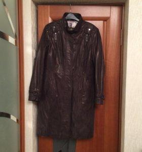 Кожаное пальто фирма dengiz