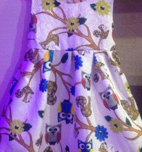 Платье для девочки 5-6лет