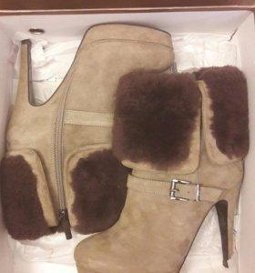 Новые  зимние ботинки р 36